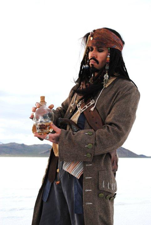 Exact-JACK-SPARROW-COAT-Pirate-Costume-jacket-M-L-XL